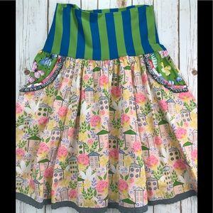 Fun Gorgeous Print Skirt from Matilda Jane!